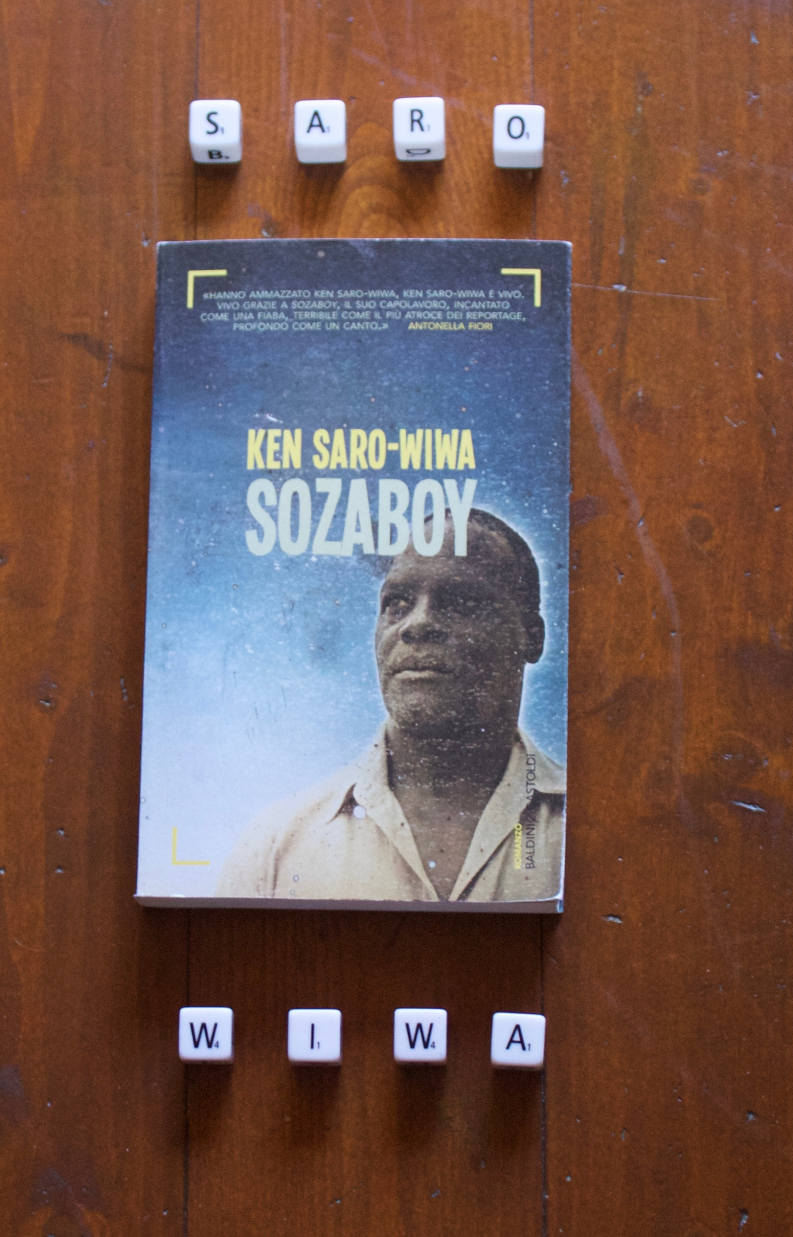 Il libro eredità di Ken Saro-Wiwa.
