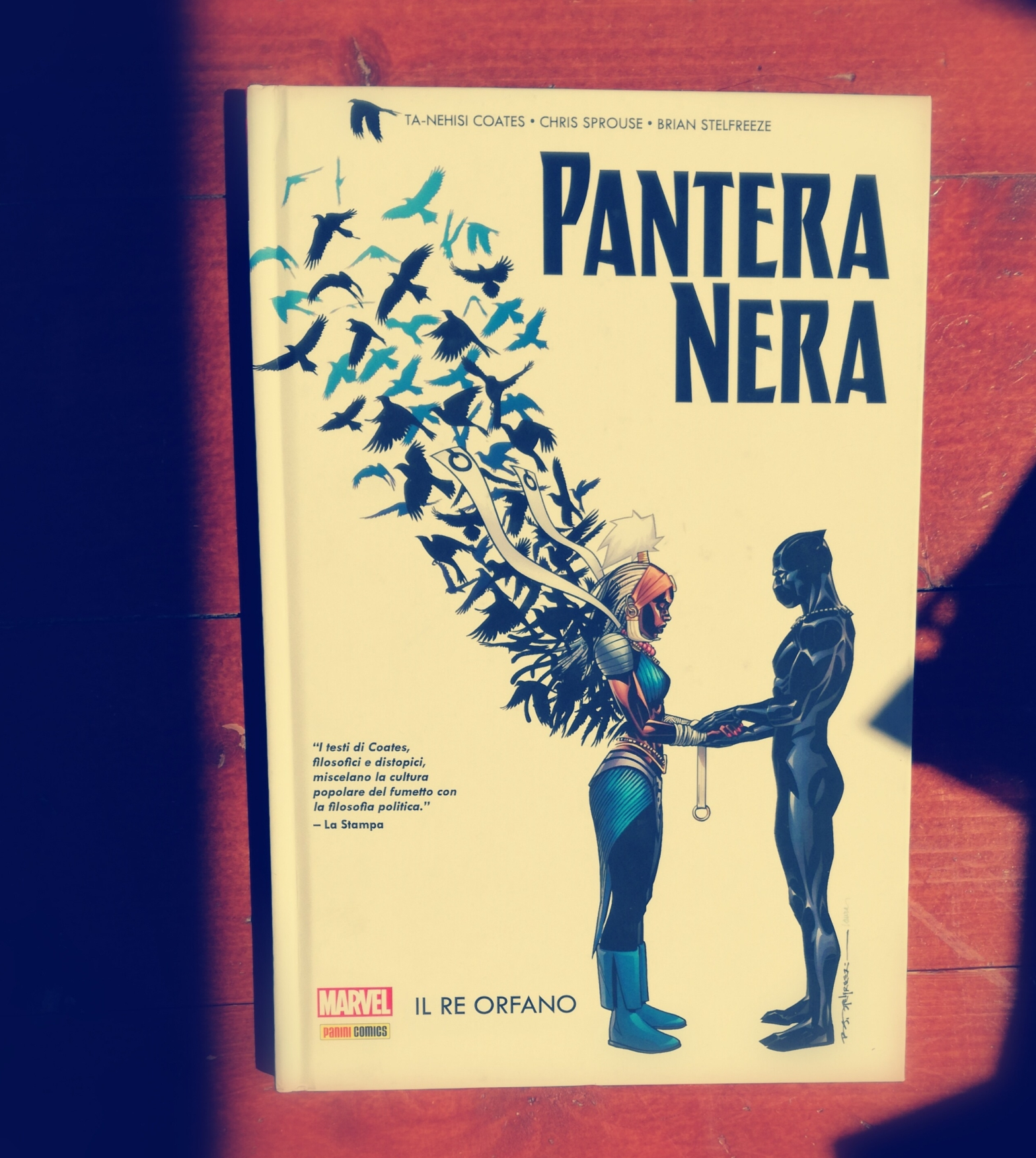 Black Panther. Pantera Nera. Ta-Nehisi Coates.
